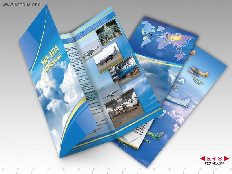 Дизайн и изготовление буклетов